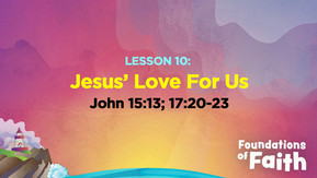 Jesus' Love for Us