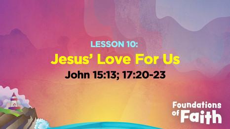 Jesus' Love for Us