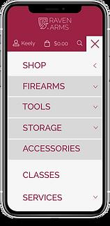 ux concept for mobile navigato