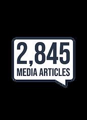 2,845 media articles