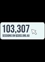 103,307 sessions on QCOSS.org.au
