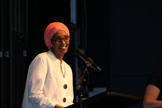 Cofounder of Resilient Aspiring Women, Mariam Issa