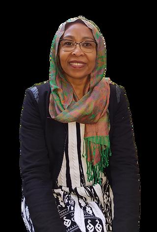 QCOSS Board Member Faiza El-Higzi