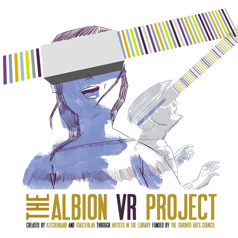 Albion VR Project - Public Installation