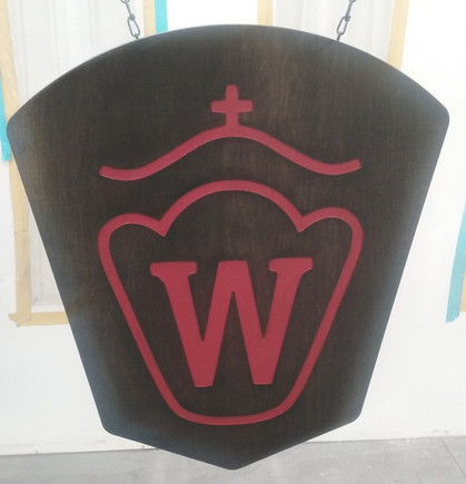 Westfalen Breed Arena Sign