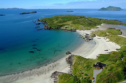 Derrynane Beach - Derrynane House - Abbe