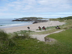 Horseriding on the beach - Ring of Kerry