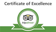 Knoxville Food Tours Trip Advisor Certificate of Excellnce