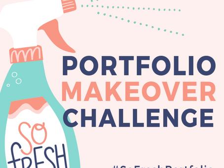 #SoFreshPortfolio - Give your portfolio a makeover!