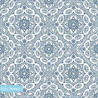Blue-mandala-seamless-pattern-tile-design