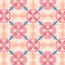 pastel pink geometric pattern, fabric design, buy at Spoonflower.com