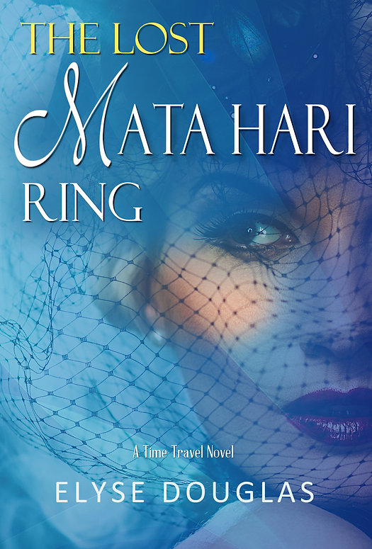 THE LOST MATA HARI RING BEVEL BLONDE HAT