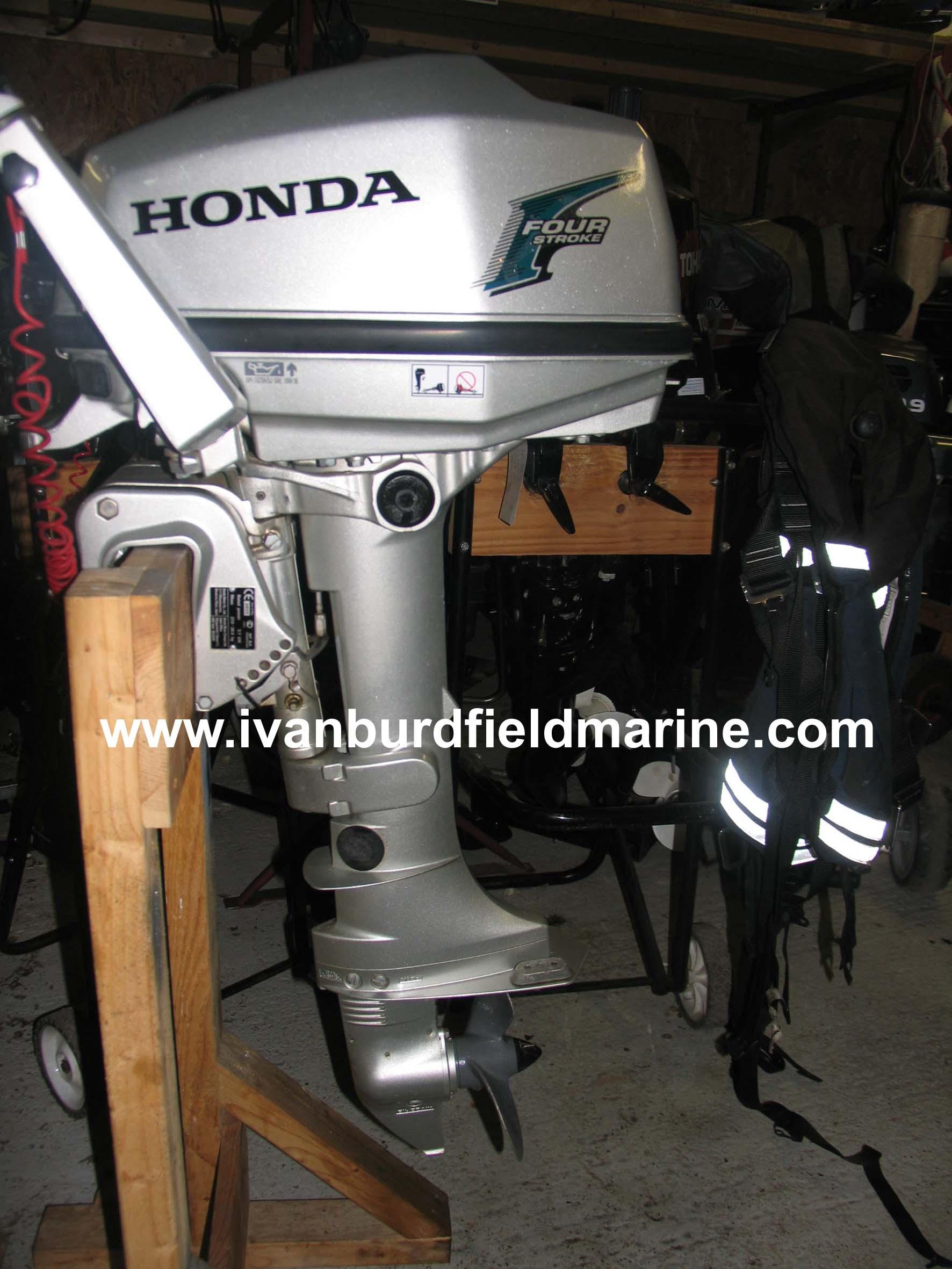 Honda 5hp outboard