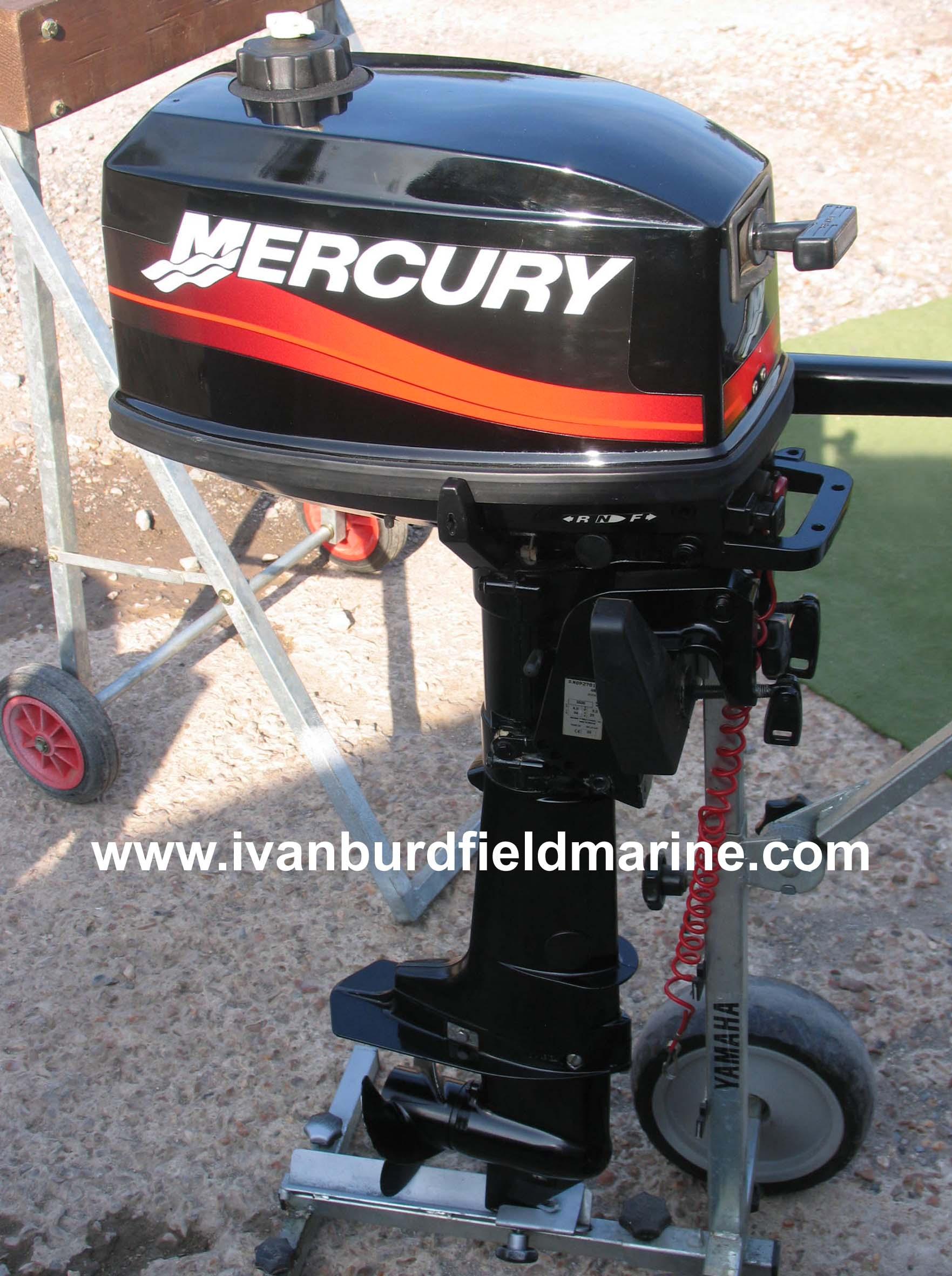 Mercury 4hp 2 stroke
