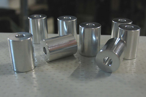 Inflatable boat Launch wheel spacers