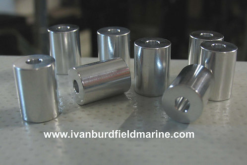 Launch wheel spacers