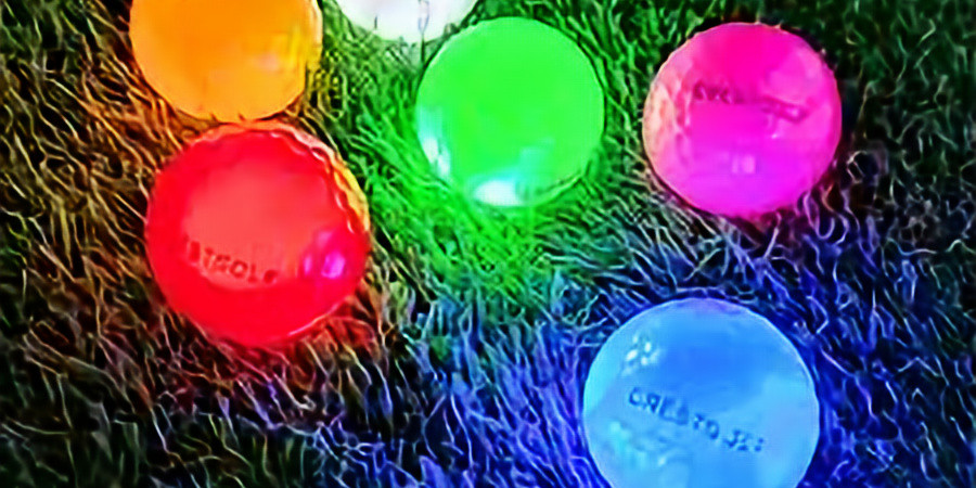 Red and Blue GLOW Golf Tournament 2021
