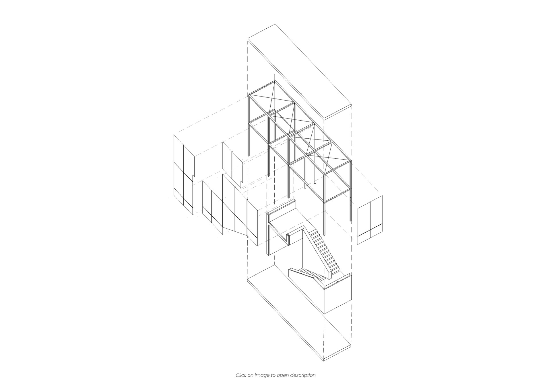 Restoration and consolidation of Palazzo Tassoni: project of a stairwell as a connective element