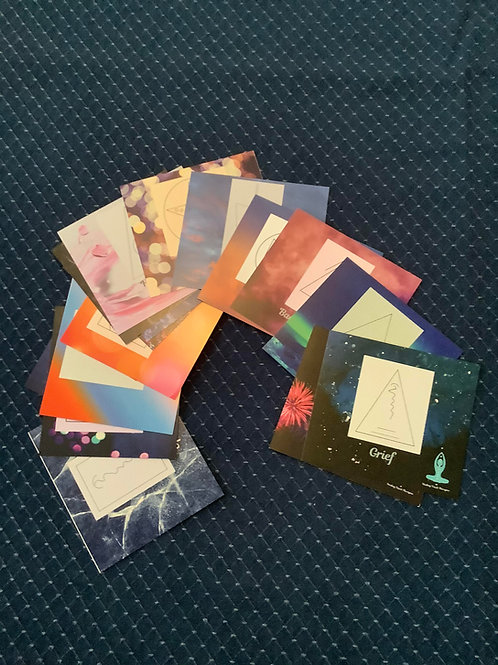Set of Healing Symbol Cards (Shipping to USA)