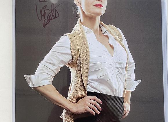 "PPW Authentic Autograph Leva Bates ""The Librarian """