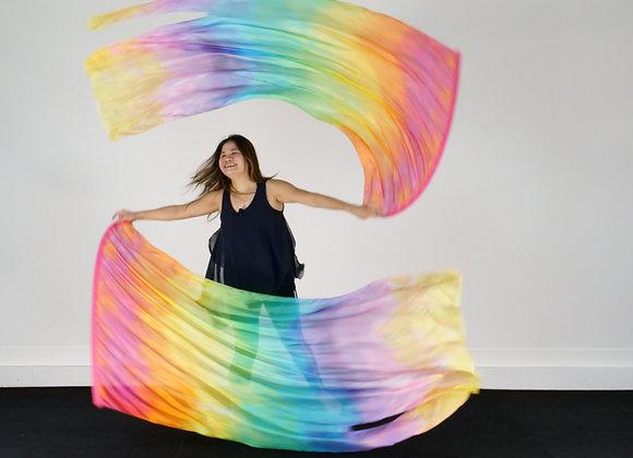 Increase of Joy // (ML) Silk Flags (Set of 2) - RTS