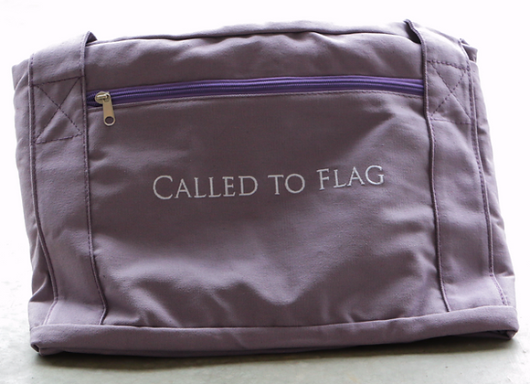 Duffel Bag - Canvas - Wild Lavender - RTS