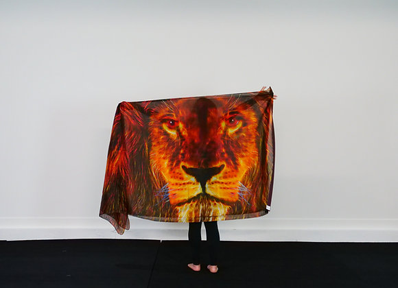 Extra Long // Lion's Roar // Silk Flag(s) - from $130