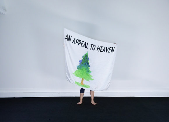 Large Size // Appeal to Heaven (Modern) // Silk Flags (Set of 2)