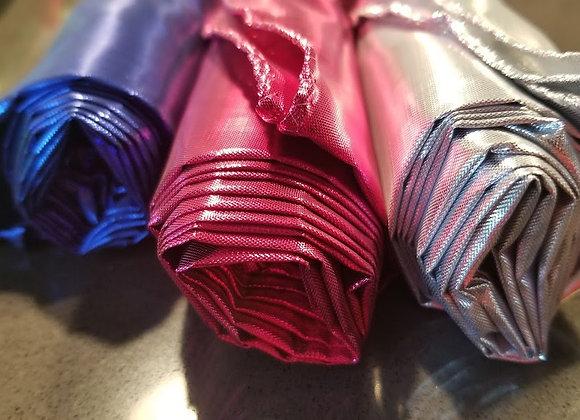 3X Sets :: Liquid Metal - Silver Flash + Bright Fuchsia Pink + Royal Blue - RTS