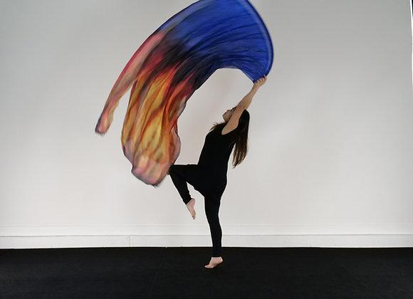 Medium Long // Ignite // Silk Flags (Set of 2)