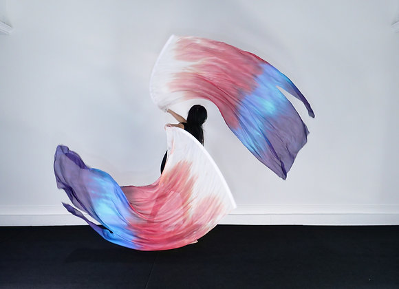 Beauty of Surrender // (ML) Silk Flags (Set of 2) - RTS