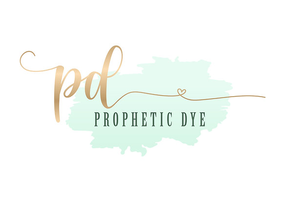 Prophetic Dye // Medium Long Silk Flags (Set of 2)