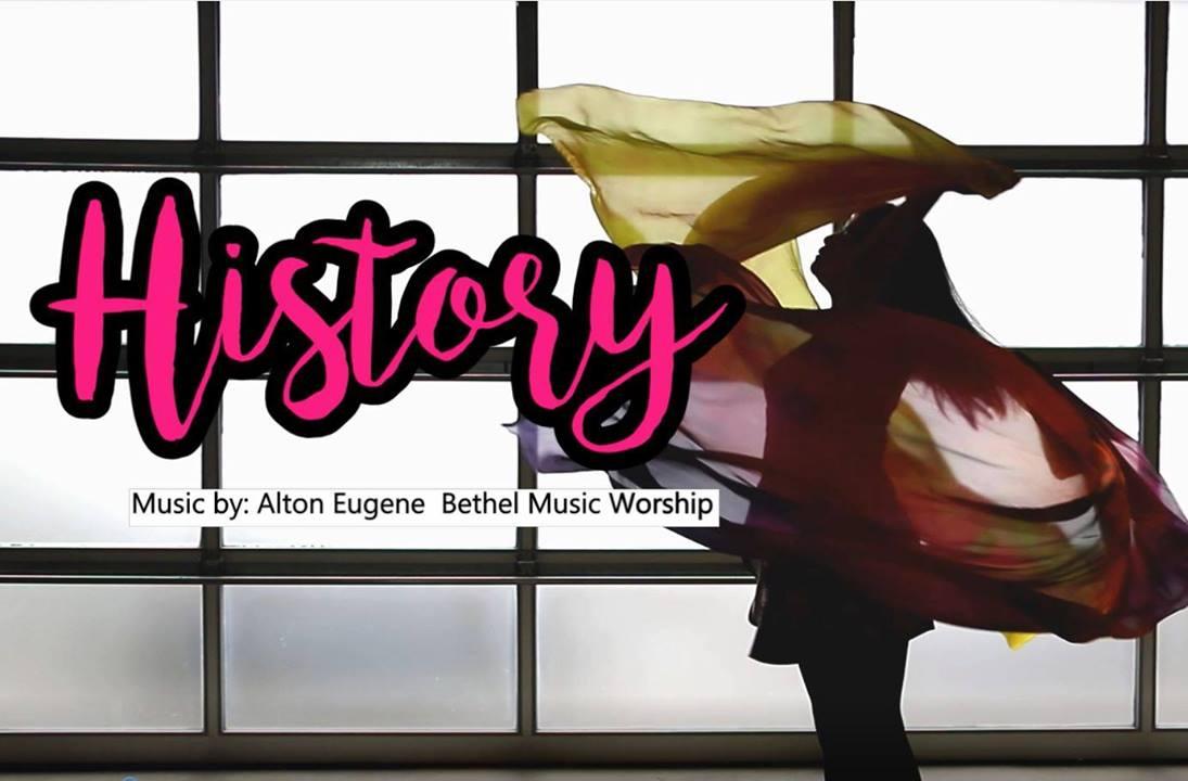 History by Alton Eugene Bethel Worship | Worship flag dance