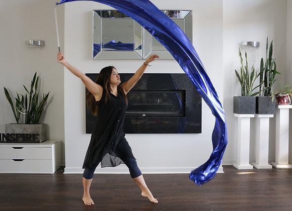 SINGLE Streamer - Liquid Metal Royal Blue