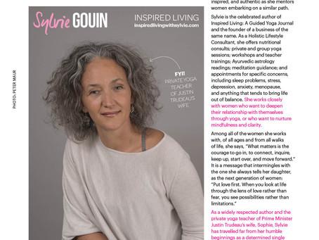 Thank you Eryn Kirkwood and  Sweat Equity Magazine
