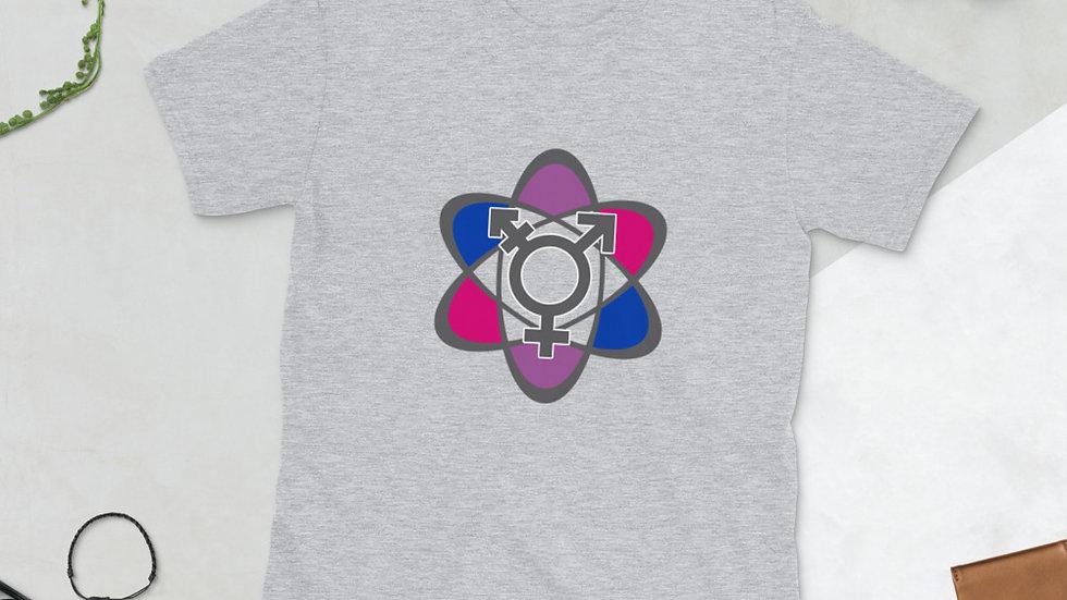 UMATT3R BI PRIDE Short-Sleeve Unisex T-Shirt