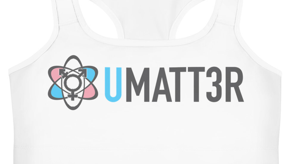 UMATT3r Trans Pride Sports bra