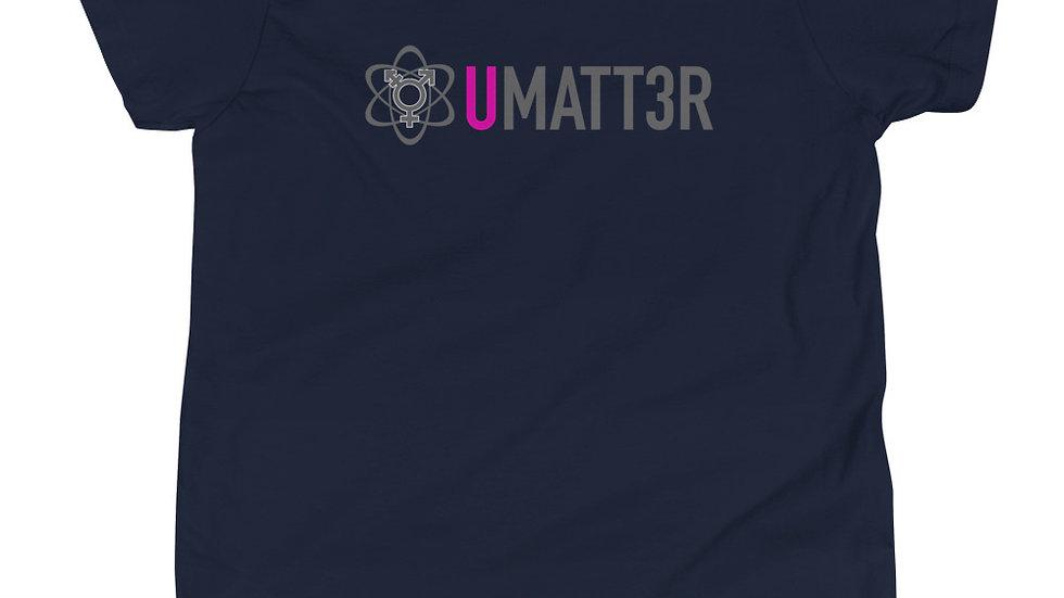 Unisex Youth Short Sleeve T-Shirt