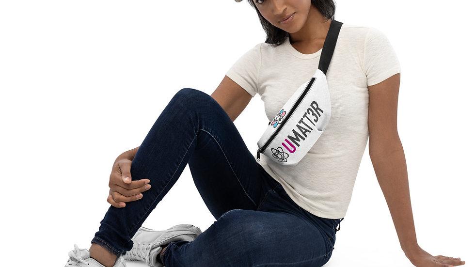 UMATT3R Trans Pride Adjustable Sling Bag/Fanny Combo