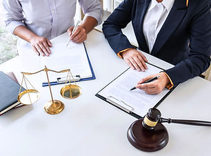 Professional female lawyer or counselor