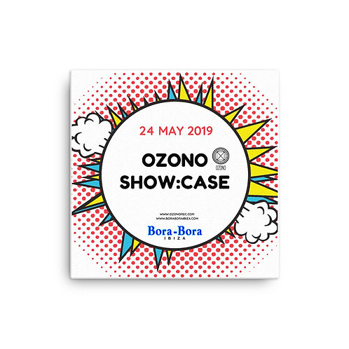 Ozono Showcase Ibiza Canvas