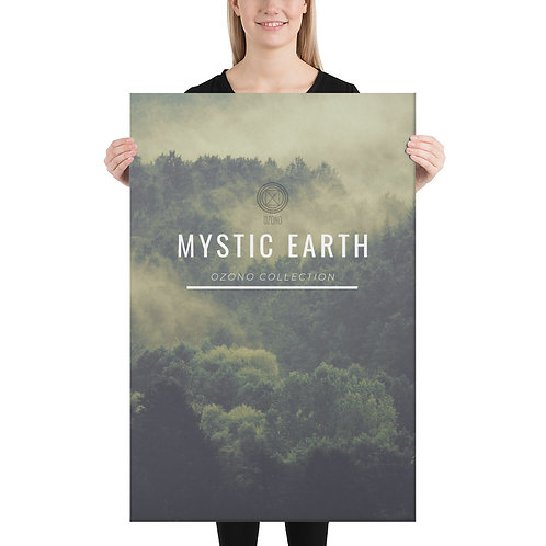 Ozono Records Canvas, Mystic Earth
