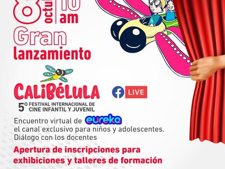 CALIBÉLULA, 5.º Festival de cine infantil y juvenil