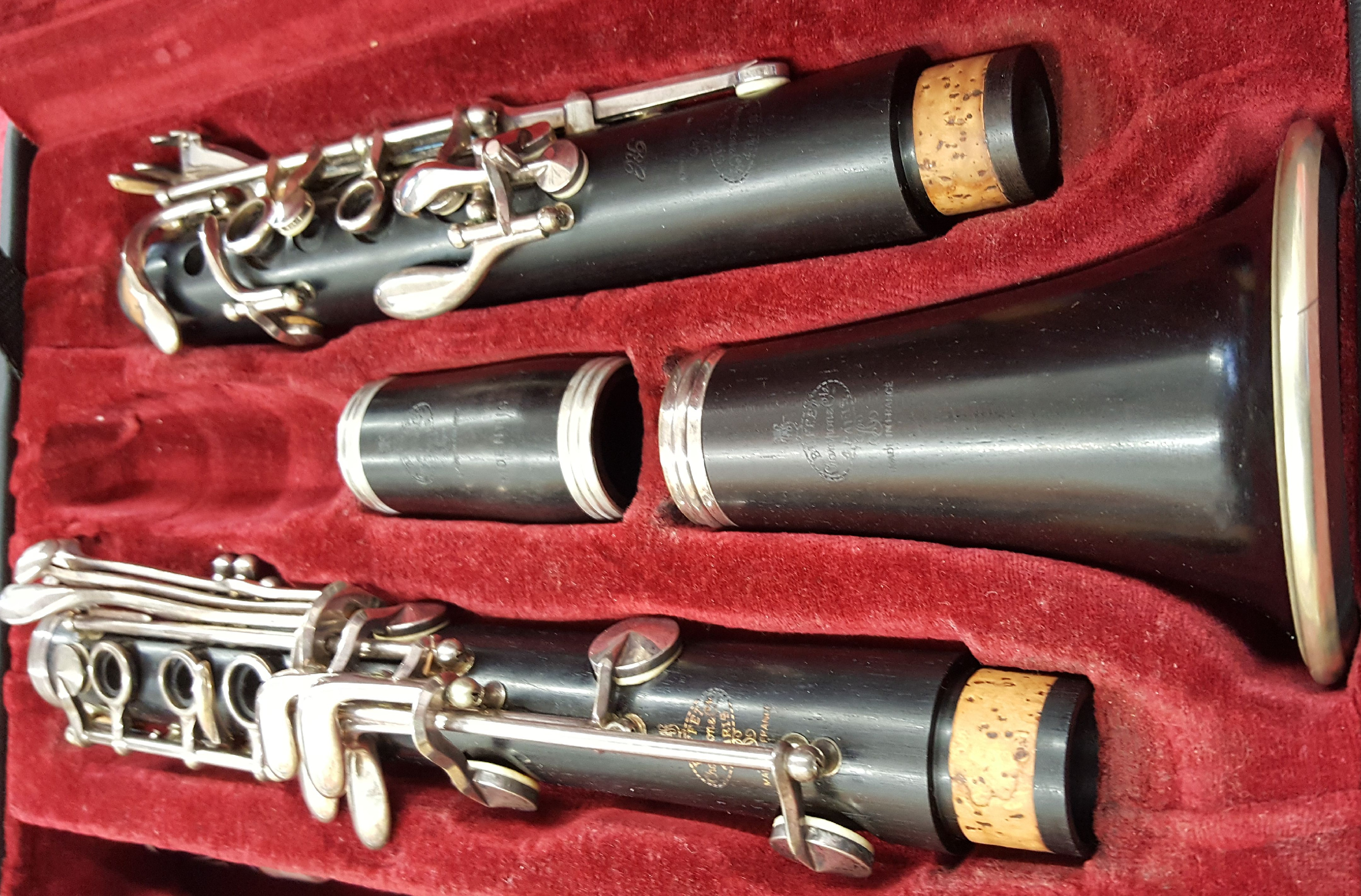 Buffet RC Professional Bb Clarinet w