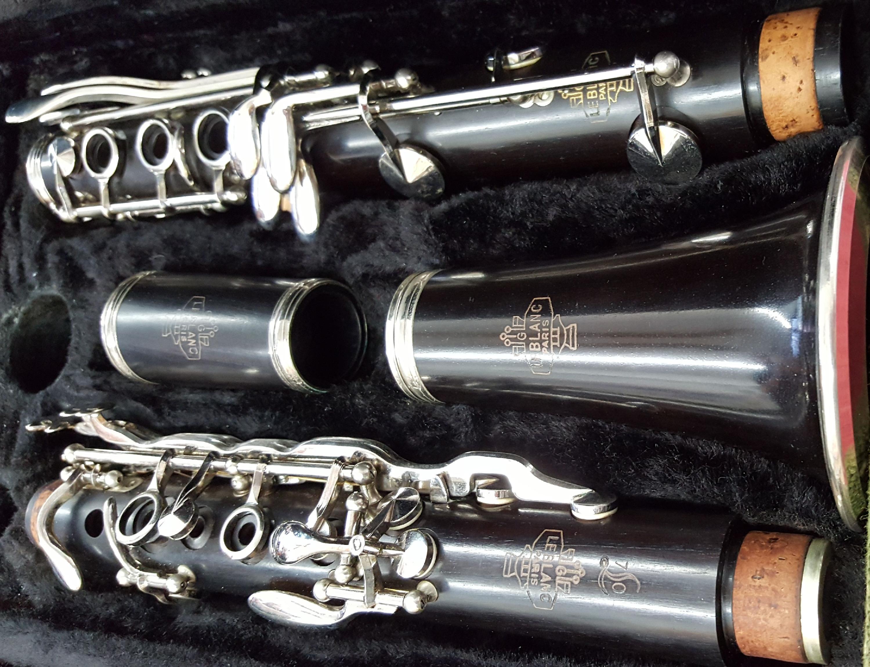 Rare LeBlanc L70 Professional Bb Cla
