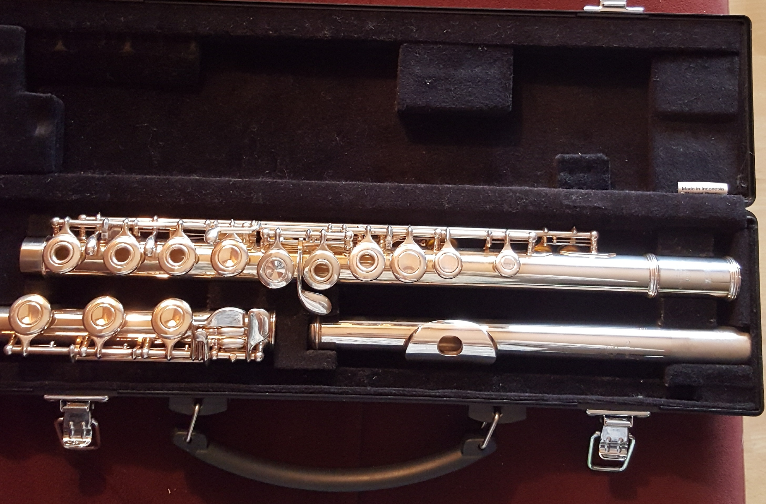 Yamaha flute 361 w/ Silver Head 925