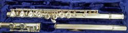 Haynes flute C foot closed hole