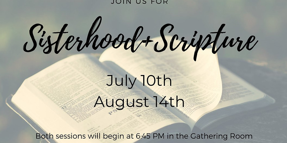 Sisterhood and Scripture