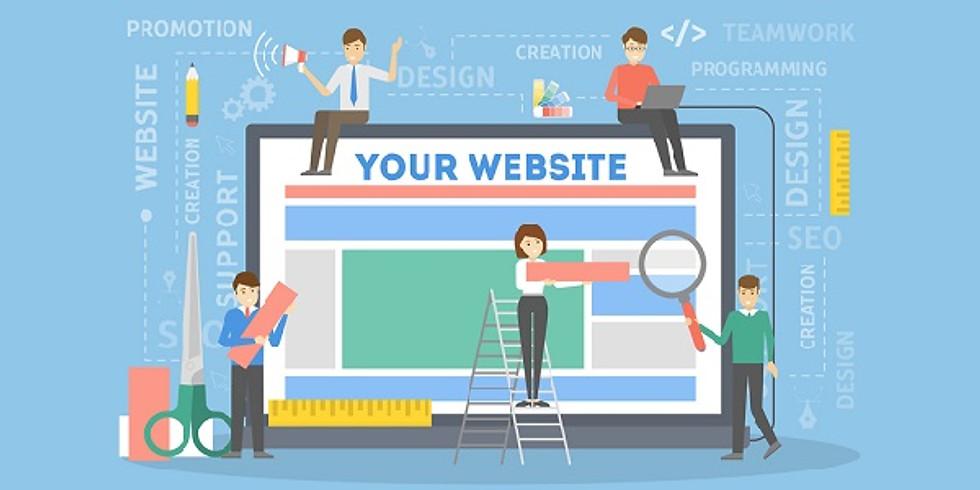 Digital Design Workshop ~ Website Building with WIX