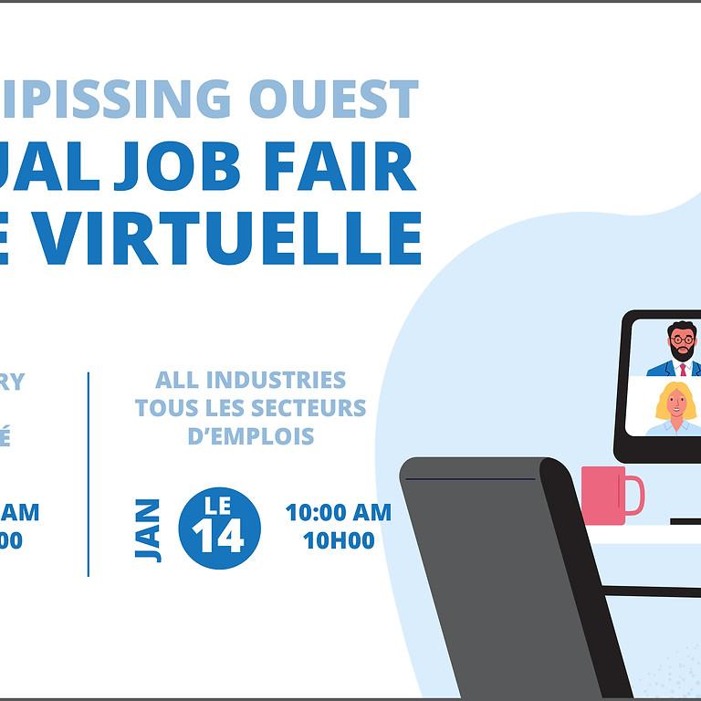 Virtual Job Fair - All Industries